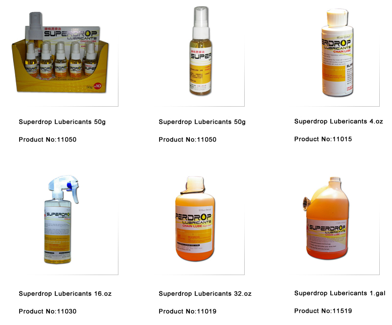 Superdrop Lubricants » Lubricants  潤滑油